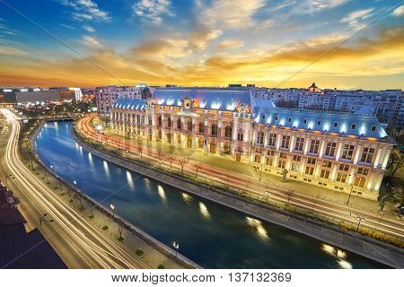 Bucharest By Night.