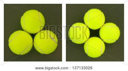 Yellow Tennis Balls - 1