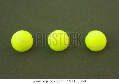 Yellow Tennis Balls - 9