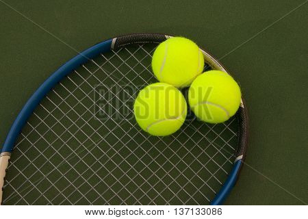 Yellow Tennis Balls - 5