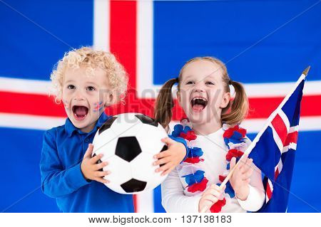Happy Kids, Iceland Football Supporters