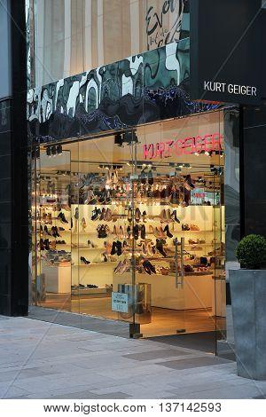 Kurt Geiger Shoe Store