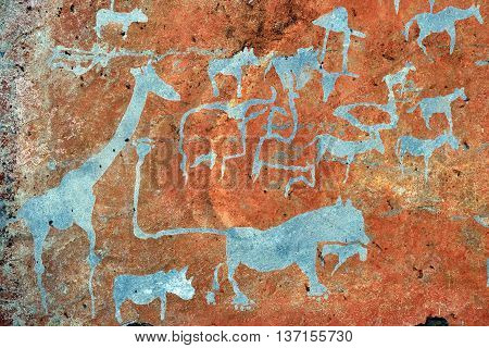 Bushman Rock Engravings