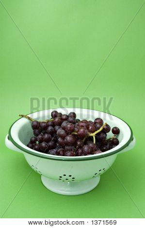 Grapes In A Colander 2