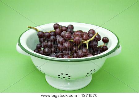 Grapes In A Colander 3