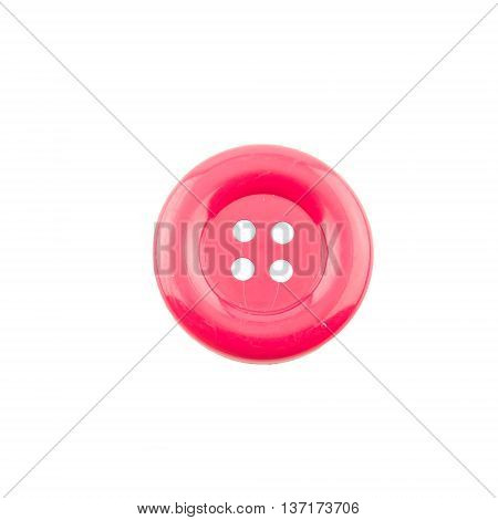 Red clasper isolated on a white background
