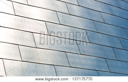 Brushed Stainless Steel panels on the BOK Center in Oklahoma