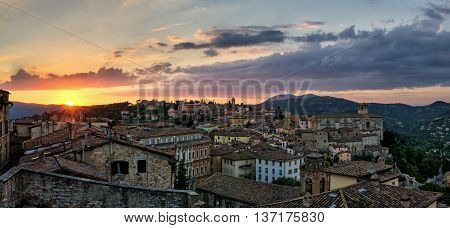 Perugia (Umbria Italy) view from Porta Sole