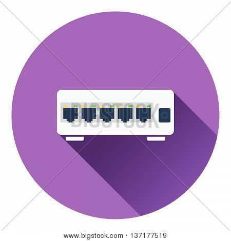 Ethernet Switch Icon