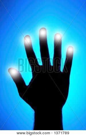 Glowing Fingers