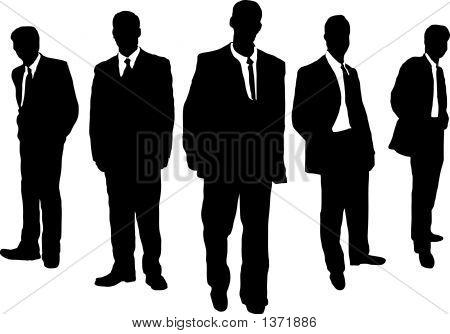 Бизнес мужчины гангстера