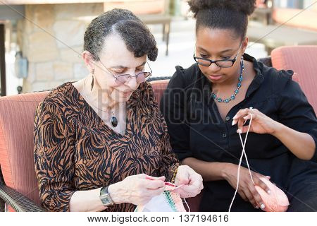 Sewing Together