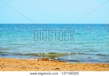Southern Black Sea In The Crimea