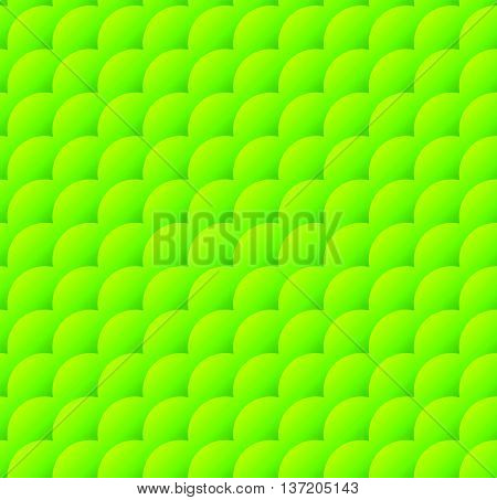 Overlapping Diagonal Circles With Gradient Fill. Simple Modern, Trendy Repeatable Pattern. Lamella,