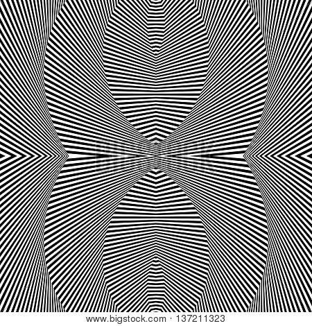 Abstract Geometric Pattern, Monochrome Background. Repeatable Texture.