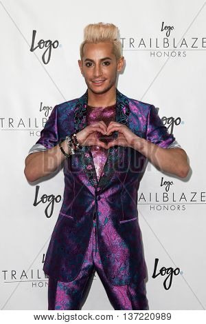 NEW YORK-JUN 25: Frankie Grande attends Logo TV's