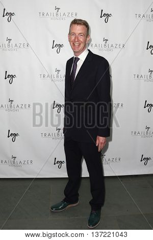 NEW YORK-JUN 25: Tiernan Brady attends Logo TV's