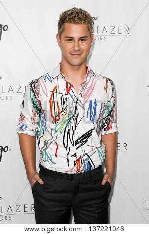 NEW YORK-JUN 25: Actor Michael J. Willett attends Logo TV's