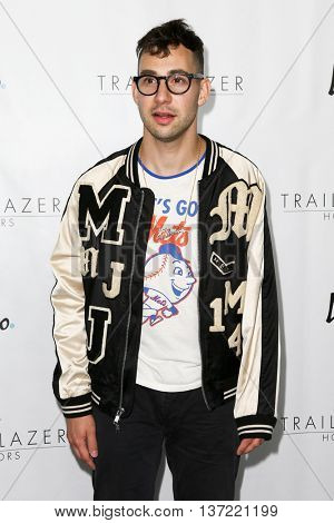 NEW YORK-JUN 25: Musician Jack Antonoff attends  Logo TV's