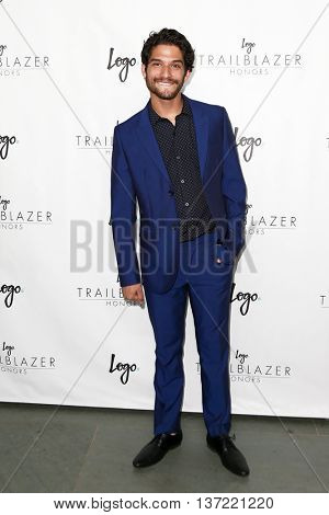 NEW YORK-JUN 25: Actor Tyler Posey attends Logo TV's