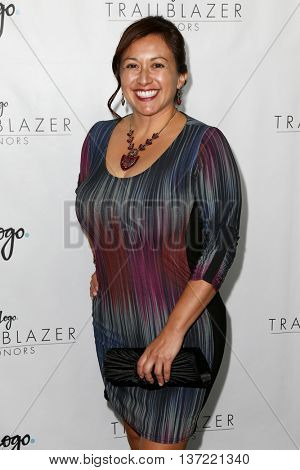 NEW YORK-JUN 25: Sheila Lopez attends  Logo TV's