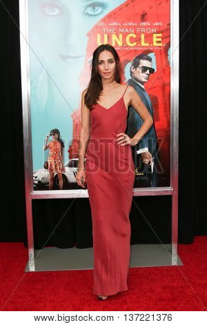 NEW YORK-AUG 10: Rebecca Dayan attends