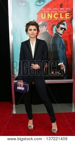 NEW YORK-AUG 10: Actress Sami Gayle attends