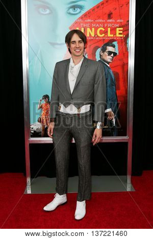 NEW YORK-AUG 10: Actor Reeve Carney attends