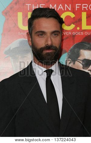 NEW YORK-AUG 10: Actor Luca Calvani attends