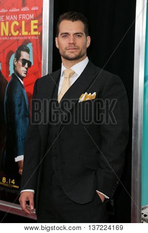 NEW YORK-AUG 10: Actor Henry Cavill attends