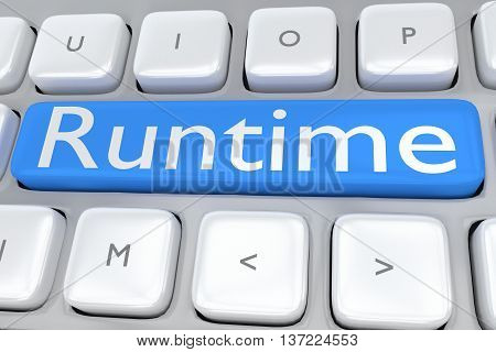 Runtime - Computer Concept