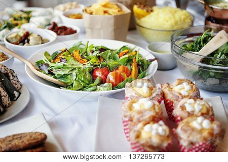 Food Meal Cuisine Dining Party Concept