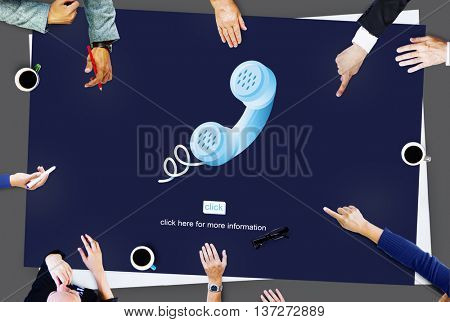 Call Telephone Communication Phone Conversation Concept