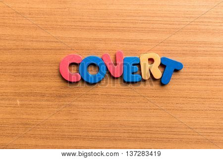 Covert Colorful Word