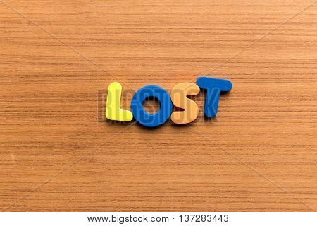 Lost Colorful Word