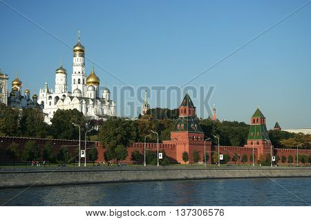 Kremlin - residence of the russian president, Moscow, Russia
