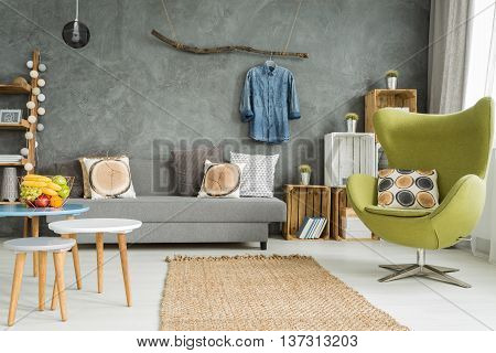 Flat With Modern Look