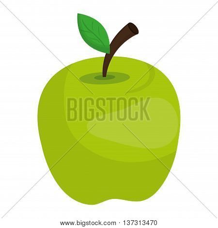 Fresh fruit isolated icon design, healty food concept vector illustration.