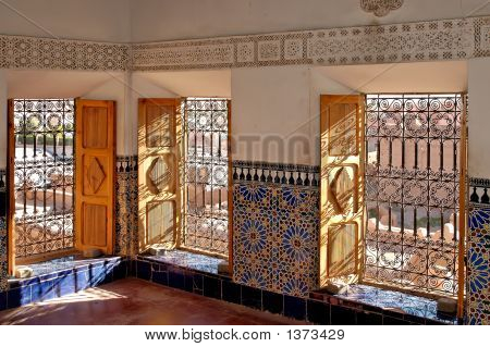 The Taourirt Kasbah In Ouarzazate (Morocco)