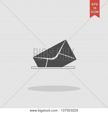 Envelope Mail Symbol. Flat Design Style.