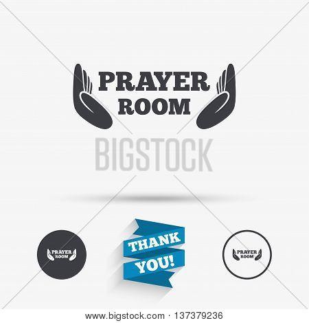Prayer Room Sign Icon Vector Photo Free Trial Bigstock