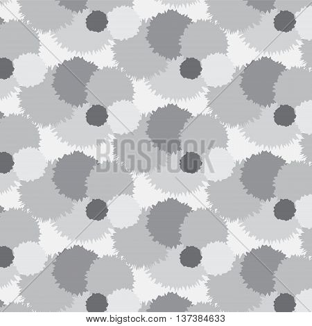 silver shade roughen bubble group pattern background vector illustration abstract image and look softly