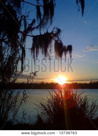 Bayou Sunset 3