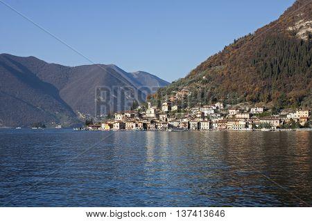Monte Isola (or Montisola), Lake Iseo, Italy