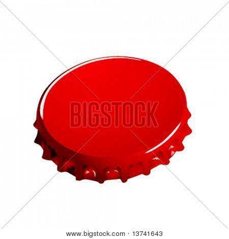 bottle cap vector