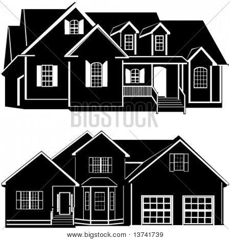 Residenzen bauen Vektor 6