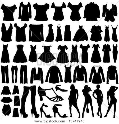 fashion clothes vector