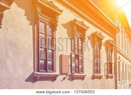 Old house and windows