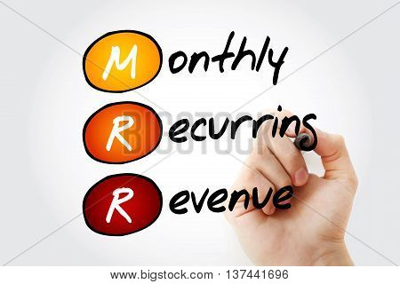 Mrr - Monthly Recurring Revenue