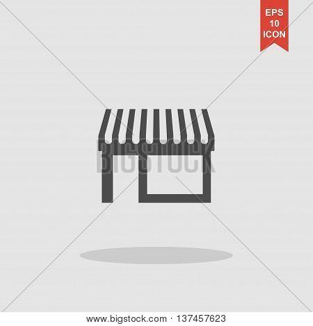 Store Icon, Modern Flat Design